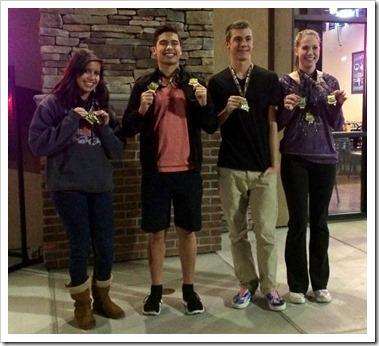 Sparks Piranhas Varsity Finalists